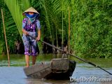 Image of The Week: Vietnam – Mekong Delta Balance and Paddle