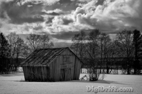Image of The Week: Finland - Shack in The Snow