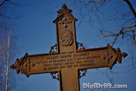Image of The Week: Finland - Iron Cross of the Hietaniemi Cemetery
