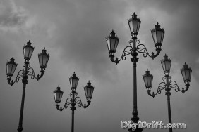 Moscow - Four Vintage Lights