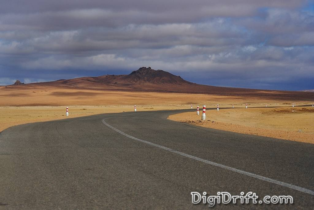 Mongolia Open Road